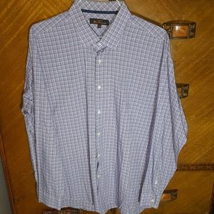 Ben Sherman windowpane dress shirt